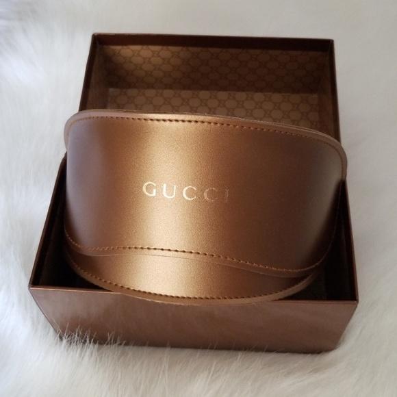 detailed look 380ce 61344 Gucci Sunglasses case & box